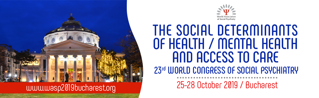 23rd World Congress Of Social Psychiatry 2019