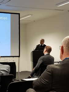Session on the World Psychiatric Association Scientific Sections (WPA Scientific Sections) during the WPA 17th World Congress of Psychiatry held in Berlin. Chair Professor George Christodoulou.