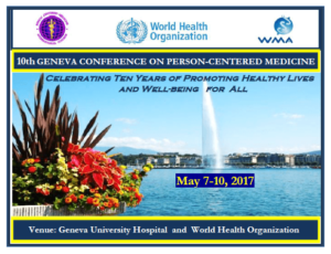 10th Geneva conference on Person-Centered Medicine