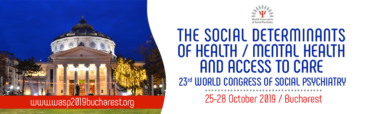 23rd World Congress Of Social Psychiatry 2019